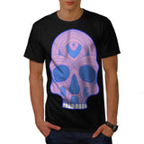 Skull Sugar Acid Art Mens T-Shirt