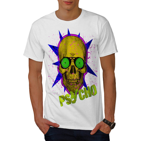 Skull Acid Sugar Art Mens T-Shirt