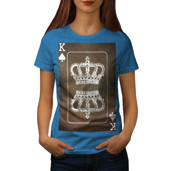 Royal Crown Game Womens T-Shirt