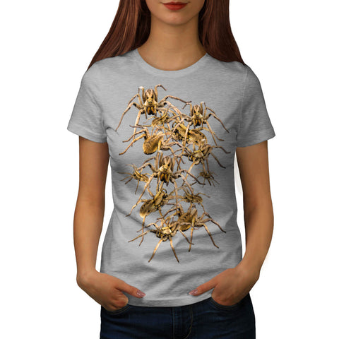 Spider Nest Scare Womens T-Shirt