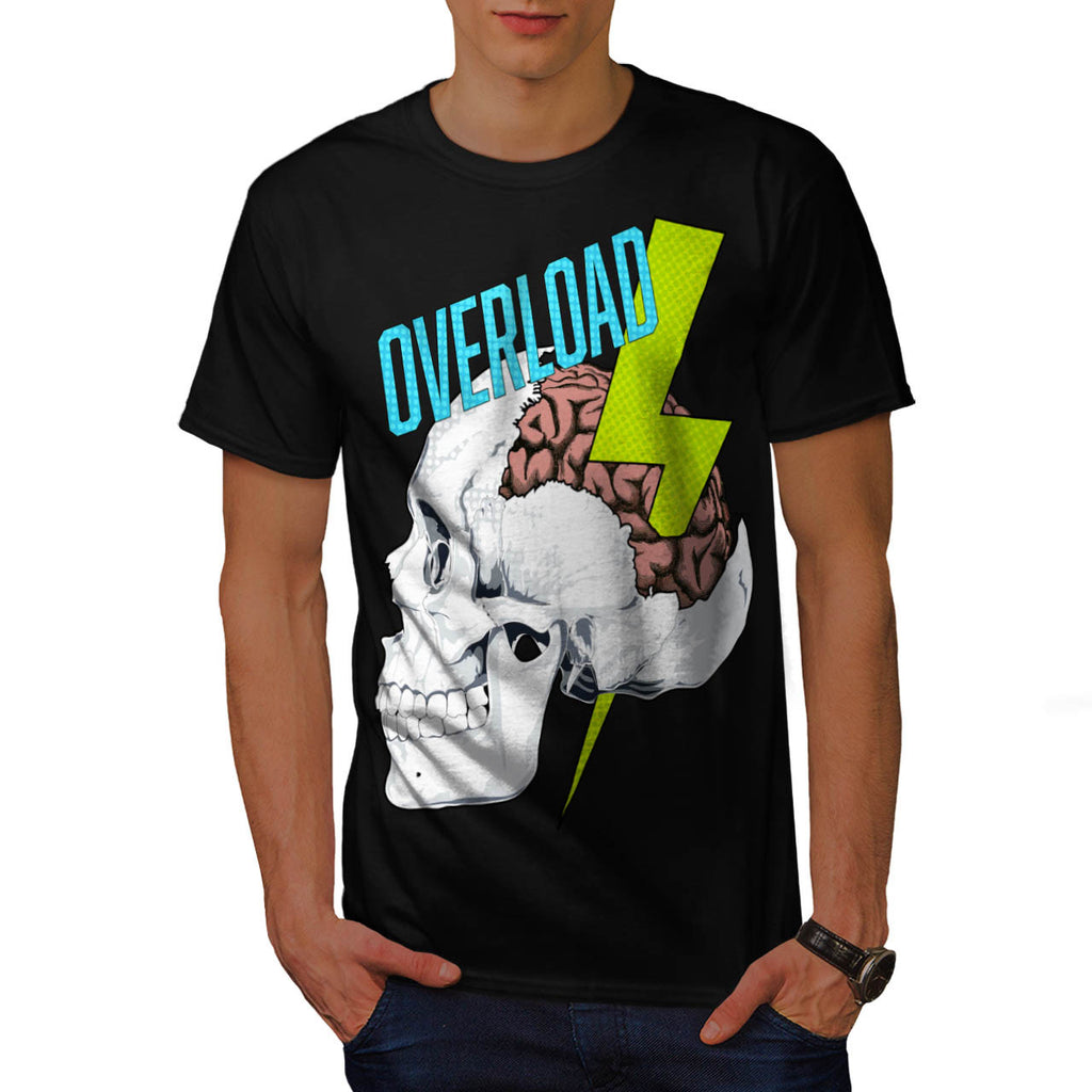 Skull Head Zombie Mens T-Shirt