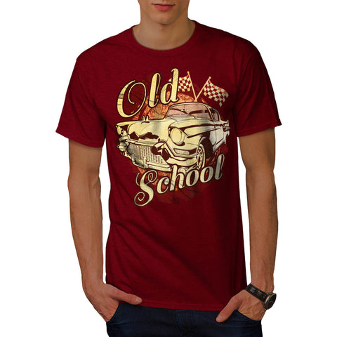 Old School Vehicle Mens T-Shirt