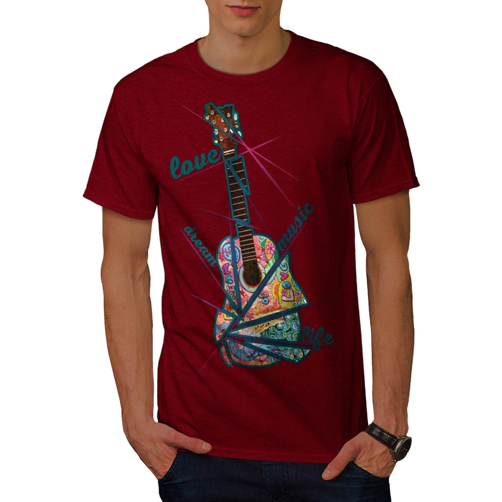 Hippie Life Style Mens T-Shirt