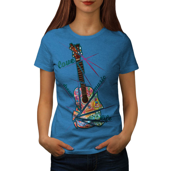 Hippie Life Style Womens T-Shirt