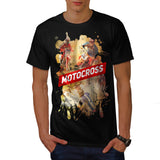 Motorcycle Maniac Mens T-Shirt