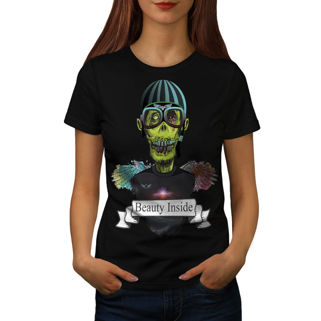 Zombie Pilot Captain Womens T-Shirt