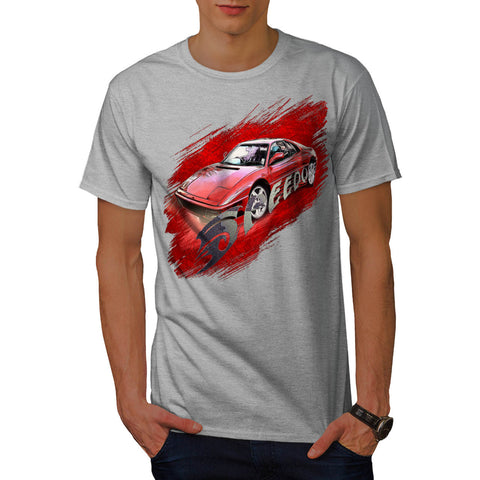 Racing Speed Dope Mens T-Shirt