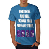Unicorn Formula Fun Mens T-Shirt