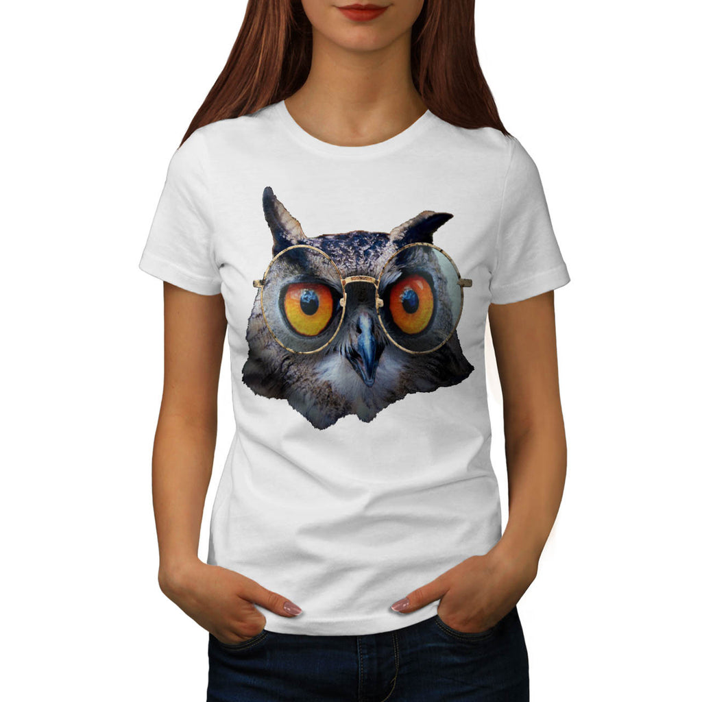 Smart Professor Owl Womens T-Shirt