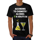 Alcohol Solution Mens T-Shirt