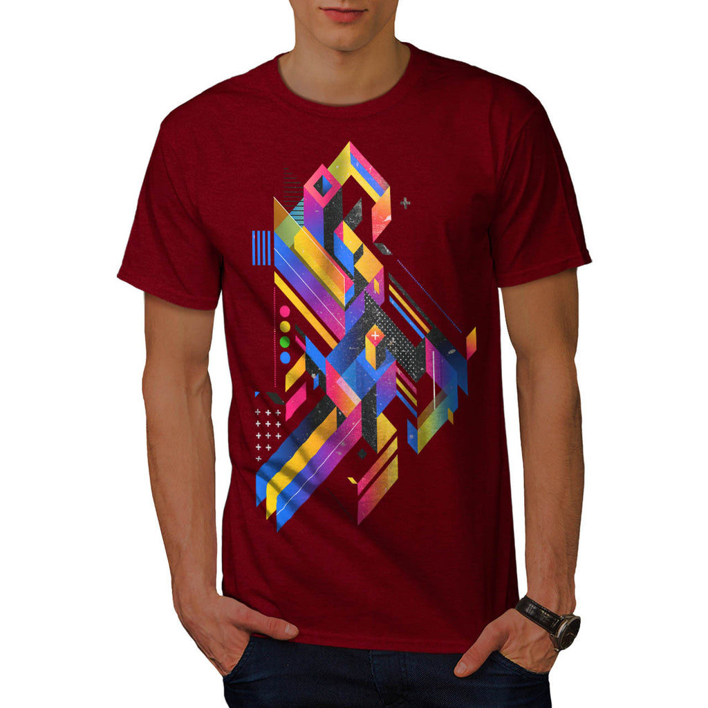 Geometry Composition Mens T-Shirt