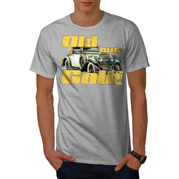 Old But Gold Car Mens T-Shirt