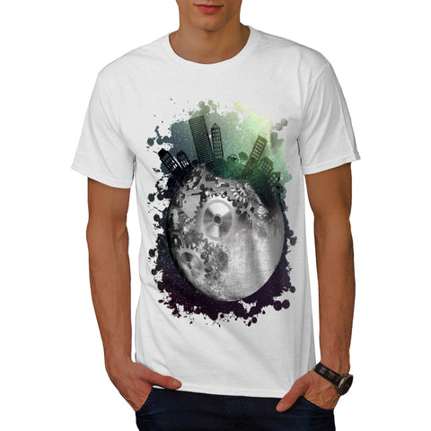 Fantasy Planet World Mens T-Shirt