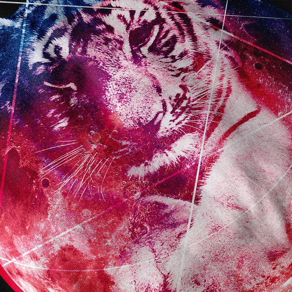 Animal Tiger Universe Womens Hoodie