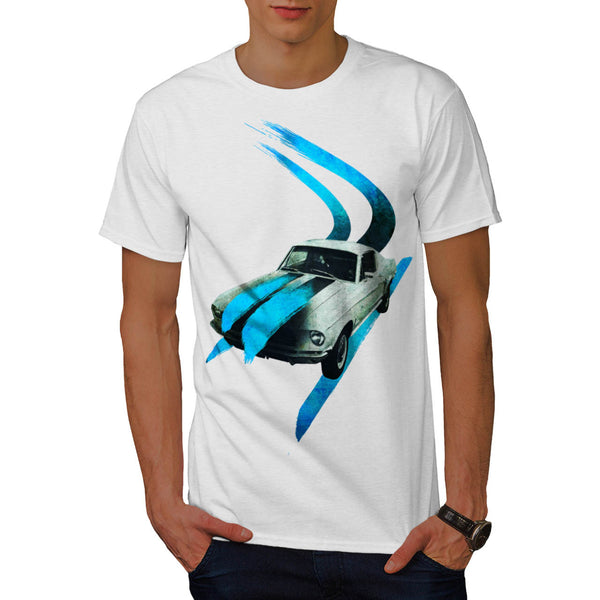 Old School Racing Mens T-Shirt