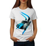 Old School Racing Womens T-Shirt