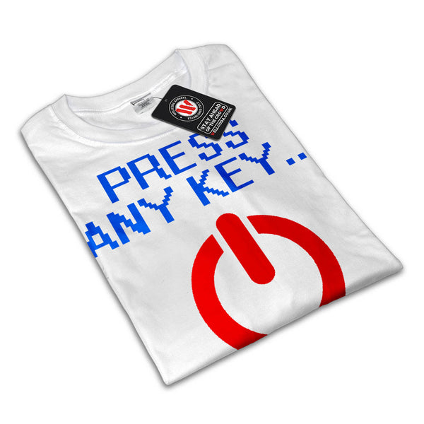 Press Any Button Mens T-Shirt