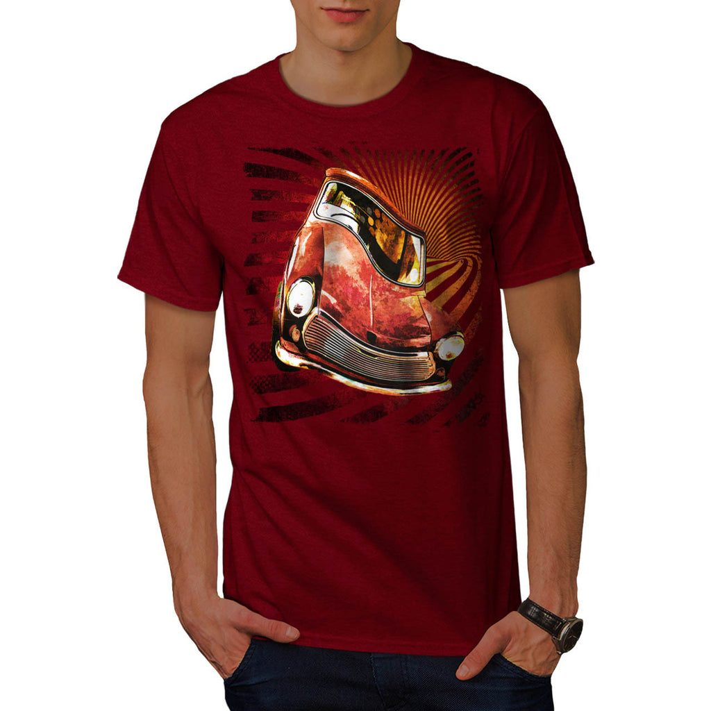 Old School Car Twirl Mens T-Shirt