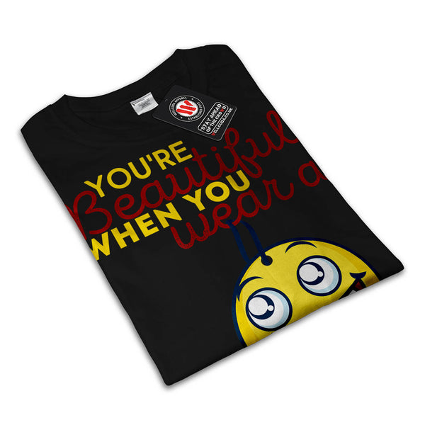 Goofy Happy Smiley Mens T-Shirt