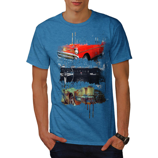 Cool Vintage Car Mens T-Shirt