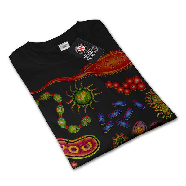 Bacteria Underworld Womens Long Sleeve T-Shirt