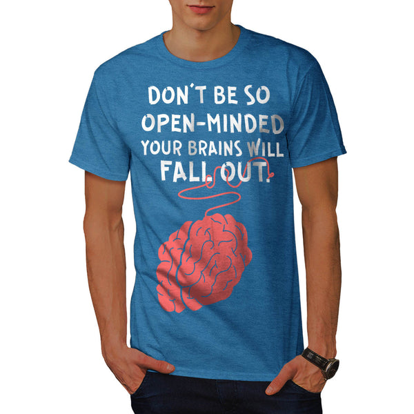 Brain Phrase Fun Mens T-Shirt