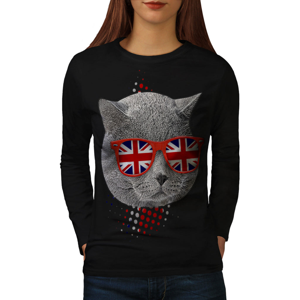British Shorthair Womens Long Sleeve T-Shirt
