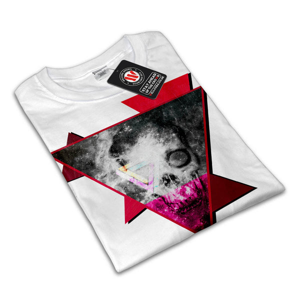 Skull Soul Glow Art Mens T-Shirt