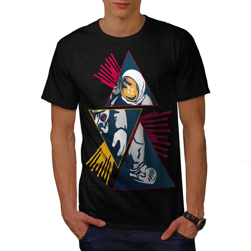 Spaceman Journey Mens T-Shirt