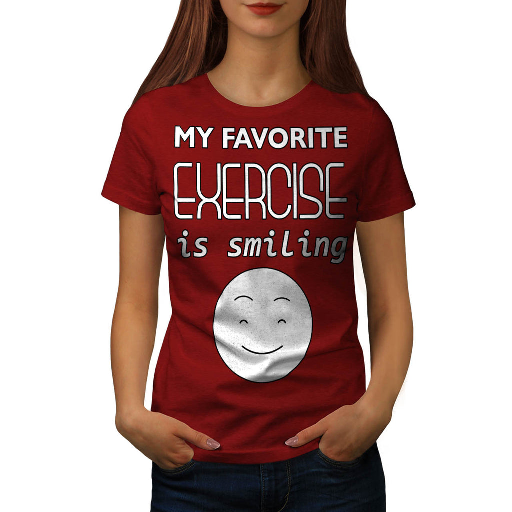 My Favorite Exercise Womens T-Shirt