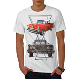 Retro Triangle Ride Mens T-Shirt
