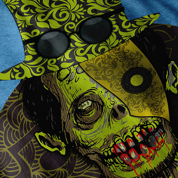 Zombie Dead Monster Womens T-Shirt