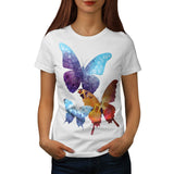 Butterfly Nature Love Womens T-Shirt