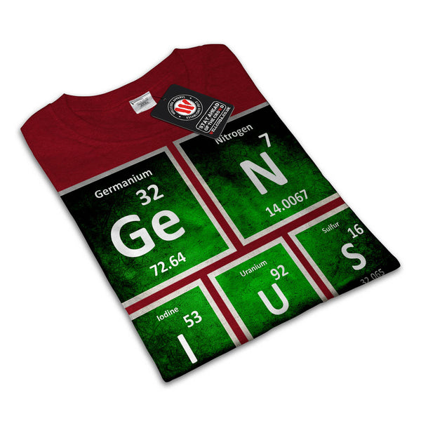 Genius Periodic Sign Mens T-Shirt