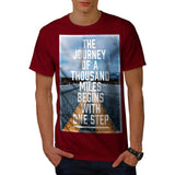 Thousand Mile Step Mens T-Shirt