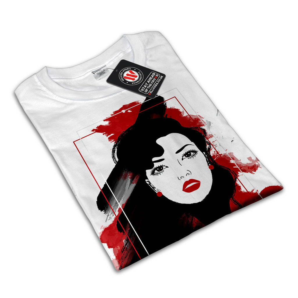Beautiful Lady Style Womens T-Shirt