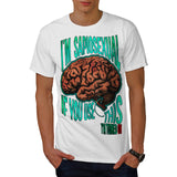Intelligence Turn On Mens T-Shirt