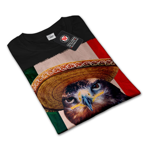 Eagle Bird Sombrero Womens Long Sleeve T-Shirt