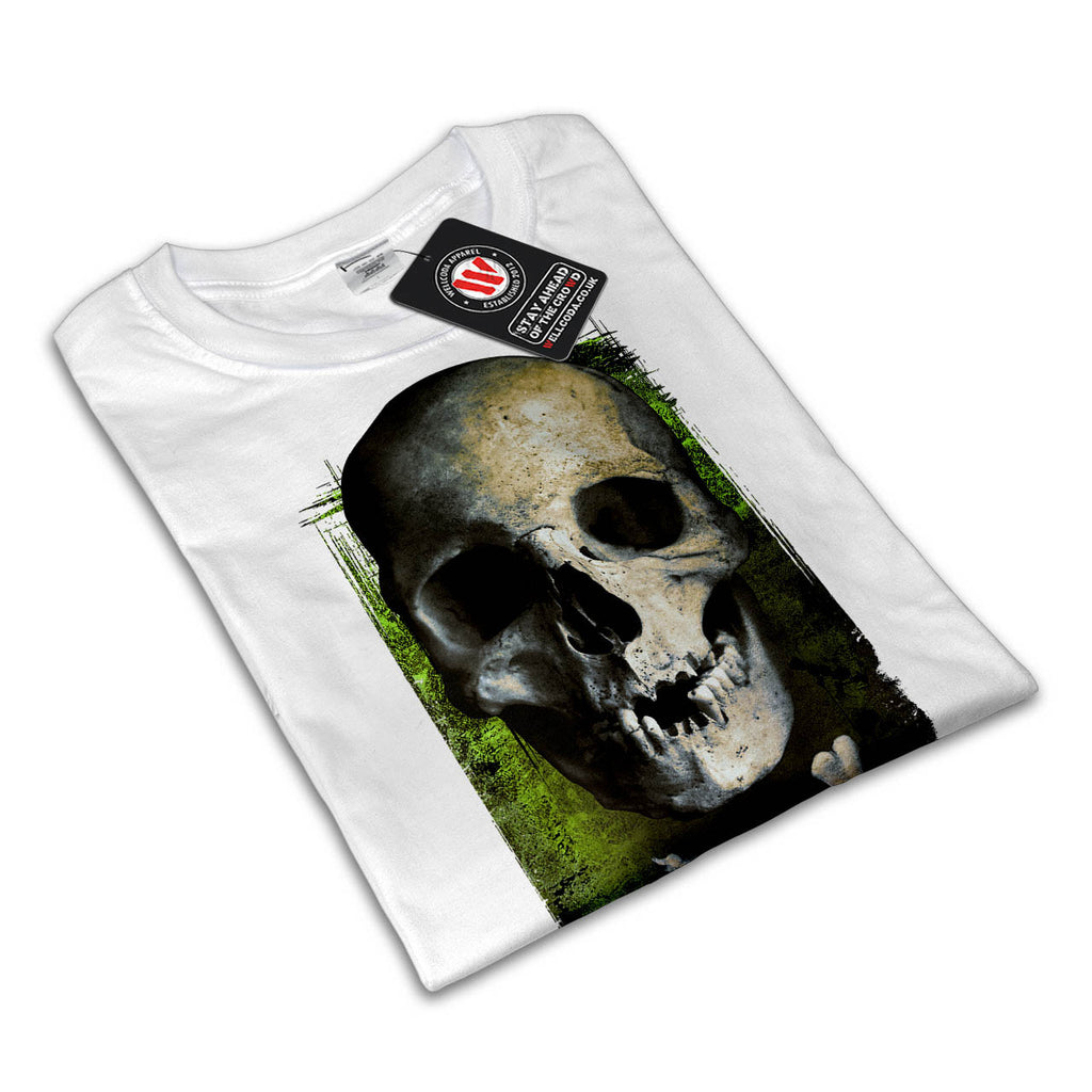 Skull Pirate Head Mens T-Shirt