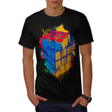 Cube Game Colour Twist Mens T-Shirt