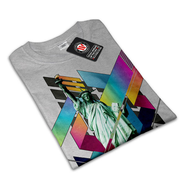 Liberty Composition Mens T-Shirt
