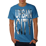 Urban City Grunge Mens T-Shirt