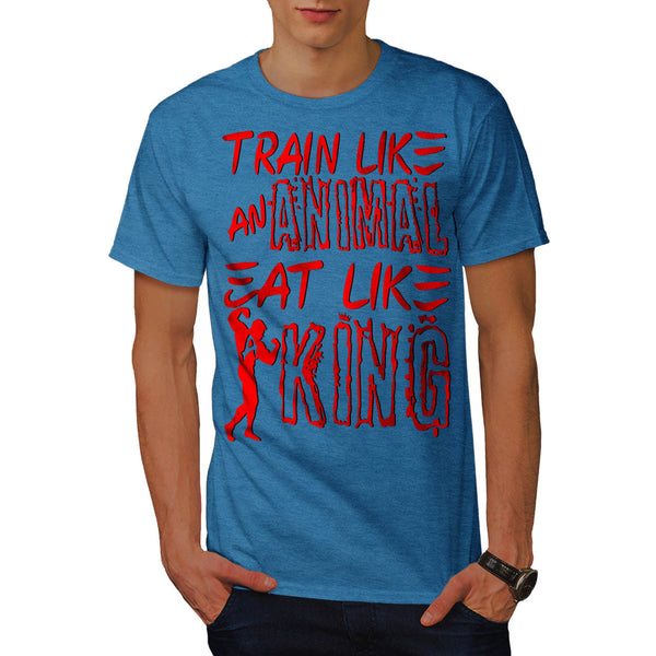 Train Like Animal Mens T-Shirt