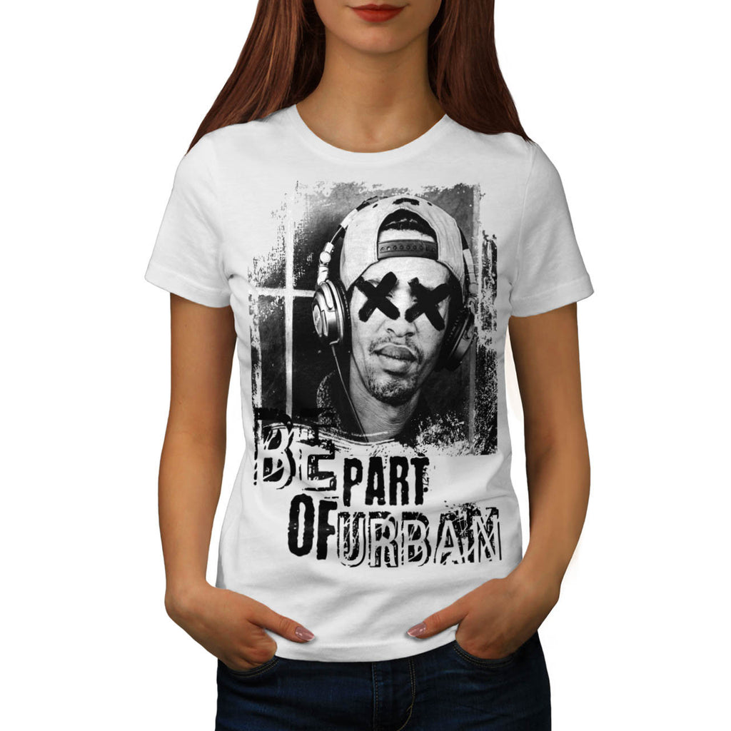 Be Part Of Urban Womens T-Shirt