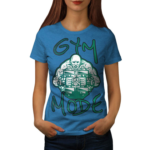 Green Muscle Monster Womens T-Shirt