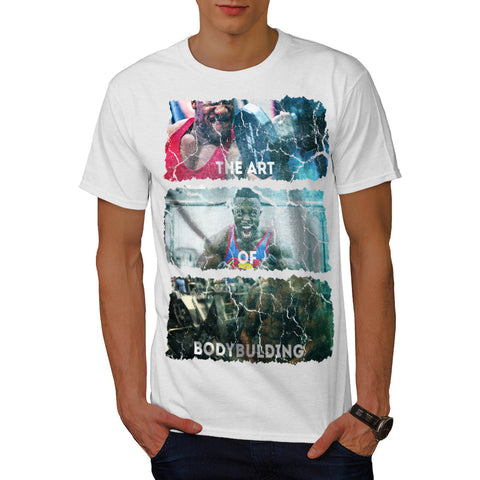 Bodybuilding Man Art Mens T-Shirt