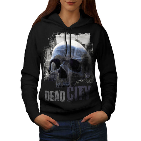 Dead City Ruin View Womens Hoodie