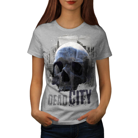 Dead City Ruin View Womens T-Shirt