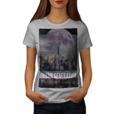Urban Generation Sky Womens T-Shirt