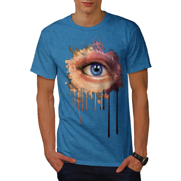 Mystic Eye Splatter Mens T-Shirt